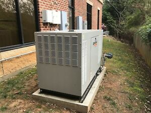 Generac 48 Kw Ng lp Low Rpm Standby Generator Used Rg04854gnax