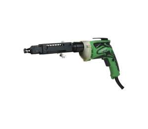 Hitachi W6v4sd2 6 6 amp Superdrive Collated Fastener Corded Drywall Screw Gun