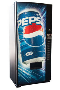 Dixie Narco 600e Beverage Vending Machine Pepsi Graphic Free Shipping