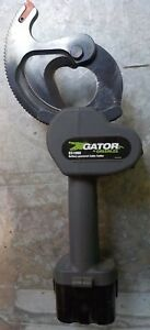 Greenlee Es1000 Gator Cordless Cable Cutter 14 4v Battery Powered 2 1 8 Cap
