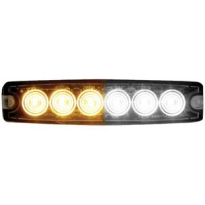 Buyers Products 8892202 5 14 Amber clear Surface Mount Led Strobe Light