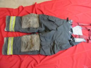 2004 Globe Gx 7 Firefighter Bunker Turnout Pants 36 X 32 Thermal Liner Costume