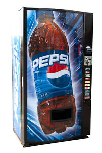 Vendo Univendor 2 Vending Machine W Pepsi Graphic