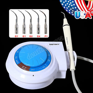 Dental Ultrasonic Piezo Scaler With Handpiece Tips Fit Ems woodpecker qq