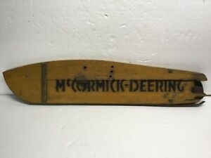 Old Vintage Tractor Part Mccormick Deering Grass Board Cub 22 Sickle Mower