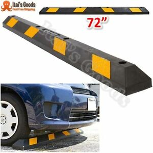 Parking Curb Wheel Stop Parking Block For Car Rv Trailer Garage Driveway Or Lot