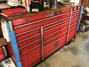 Snap On Cab Tool Box 19 Drawers Fully Equipped For A Master Auto Technician