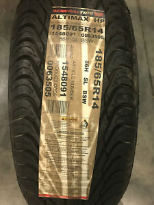 2 New 185 65 14 General Altimax Hp Tires