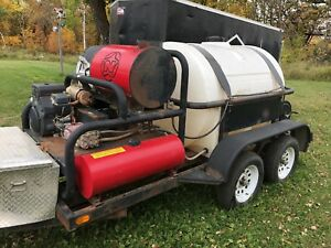 Trailer Mounted Pressure Washer