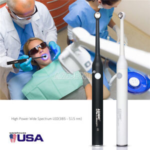 1 Set Dental Use Woodpecker Iled Style Led Curing Light Lamp 2300mw cm 2 Color