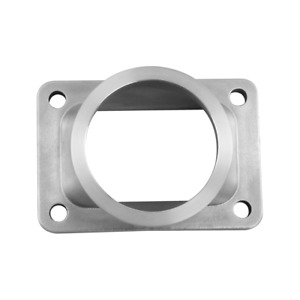 Cxracing T6 Turbo To 3 V band 304 Stainless Steel Cast Flange Adapter Converter