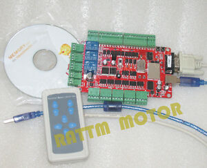 4 Axis Usb Cnc Breakout Board Usbcnc Interface Controller With Handle Control