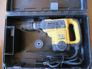 Dewalt D25501 Sds Max Rotary Hammer 1 9 16 Capacity With Case