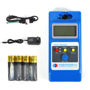 Usa Lcd Tesla Meter Magnetic Field Tester Gaussmeters Lcd Screen Type Wt10a 110v