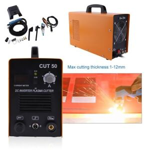 50 Amp Cut 50 Inverter Air Cutting Machine Plasma Cutter Welder Dual Voltage Sk