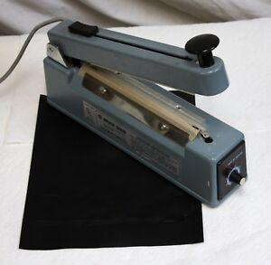 Tew Tish 200 8 Impulse Heat Sealer With Cutter Tested
