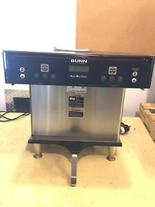 Bunn Icb twin Coffee Restaurant Coffee Maker Used Pn 37600 0012
