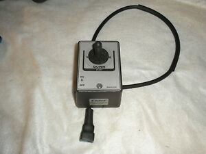 New Joystick Plow Controller For Fisher Western 6 Pin W Float Light