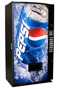 Vendo V407 Single Price Can Soda Vending Machine Pepsi Free Shipping