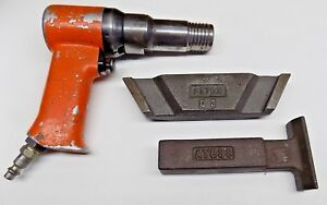 Nice Apt 3x 4x Rivet Gun With Ati Bucking Bars Aircraft Tool
