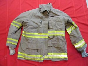 2007 Fire Cairns Turnout Jacket 48 X 32 Drd Firefighter Bunker Gear Coat Globe