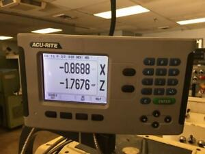 Acu rite 200s 2x 2 axis Digital Readout With Scales Included Dro Box
