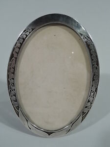 Tiffany Frame 16405 Picture Photo Antique American Sterling Silver Copper