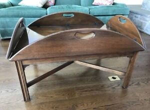 Vintage Baker Mahogany Coffee Table