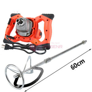220v Electric Cement Paint Putty Powder Coating Mixer 6 Speed Adjustable 800rpm