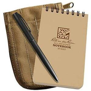 Rite Notebooks Writing Pads In The Rain All weather 3 X 5 Top spiral Kit An