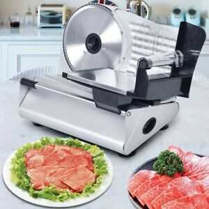 7 5 Blade Electric Meat Slicer Cheese Deli Meat Food Cutter Commercial Kitchen
