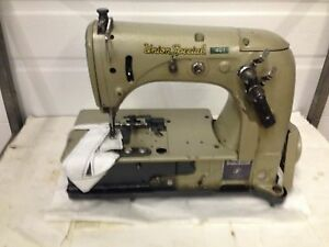Union Special 51200be 1needle Chainstitch W edgecutter Industrial Sewing Machine