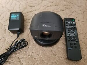 Sony Evi d30 Camera Pan tilt zoom Camera With Remote Rmt d30 Power Supply