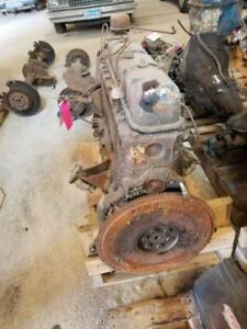 1958 Ford Core Engine 6 Cylinder 455908