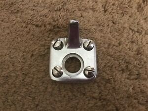 1940 Mercury Convertible Top Latch Catch Dowel Nos Center W antenna Hole Chrome