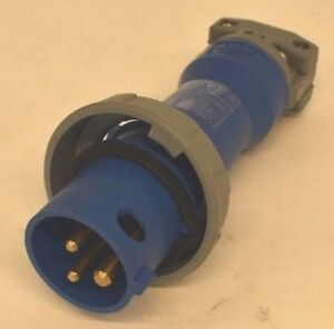 New Hubbell Hbl Pin And Sleeve Plug Hbl316p6w