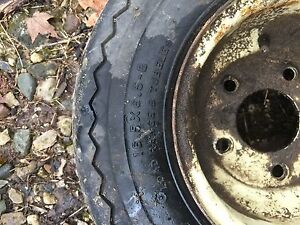 Cub Lo Boy Front Rims And Tires