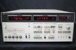 Hp 4274a Multi frequency Lcr Meters