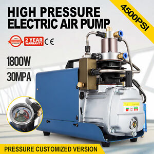 30mpa Electric Air Compressor Pump Pcp Charge Pressure Water Cooling 220v 50hz