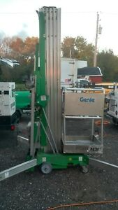 2008 Genie Awp 40s 40 Electric Mast Lift Portable Man Aerial Manlift