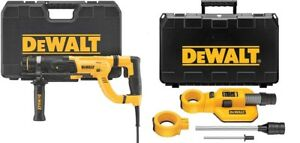 Dewalt D25262k 1 D handle Sds Rotary Hammer Shocks Dwh050k Dust Extractor