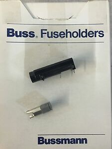 New Box Of 100 Buss Fuseholders Bk hbh i
