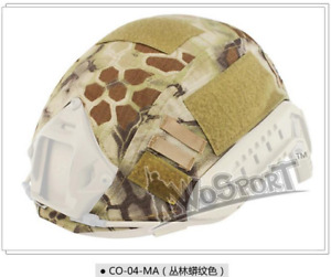 Airsoft Military Tactical Helmet Cover Helmet Accessories for Fast Helmet