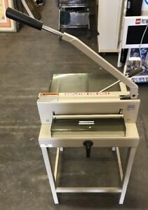 Triumph Ideal 3905 15 Ream Cutter Paper Cutter Good Condition With Stand