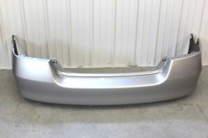 2006 2007 Honda Accord Coupe Ex ex l lx Rear Bumper Cover Nh700mx Silver