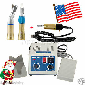 Dental Lab Marathon Micro Motor Polisher N3 2 Slow Handpiece Us Scej Christmas