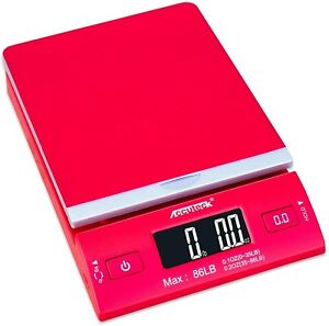 Accuteck Dreamred 86 Lbs Digital Postal Scale Shipping Scale Postage With