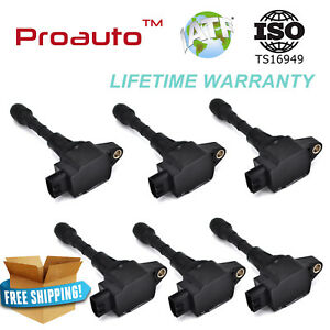 Ignition Coil Pack 6 For Infiniti Nissan Maxima Murano Pathfinder Quest 350z G35
