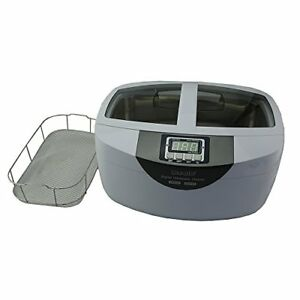 P4820 wsb Commercial Ultrasonic Cleaner 2 6qt 2 5l White Color Stainless