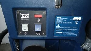 Host Liberator Dry Extractor Vac Carpet Cleaning System